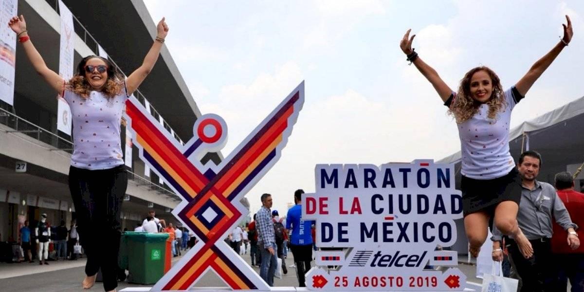 Cierres viales y horario de transporte público por Maratón de la CDMX