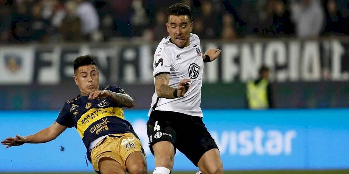 """Colo Colo detalló cómo se lesionó Matías Zaldivia: """"Se enganchó la rodilla haciendo un amague"""""""