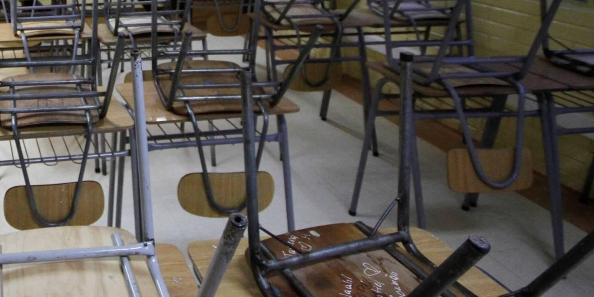 Año escolar en Chile: Gobierno anunciará medidas para evitar que se pierda