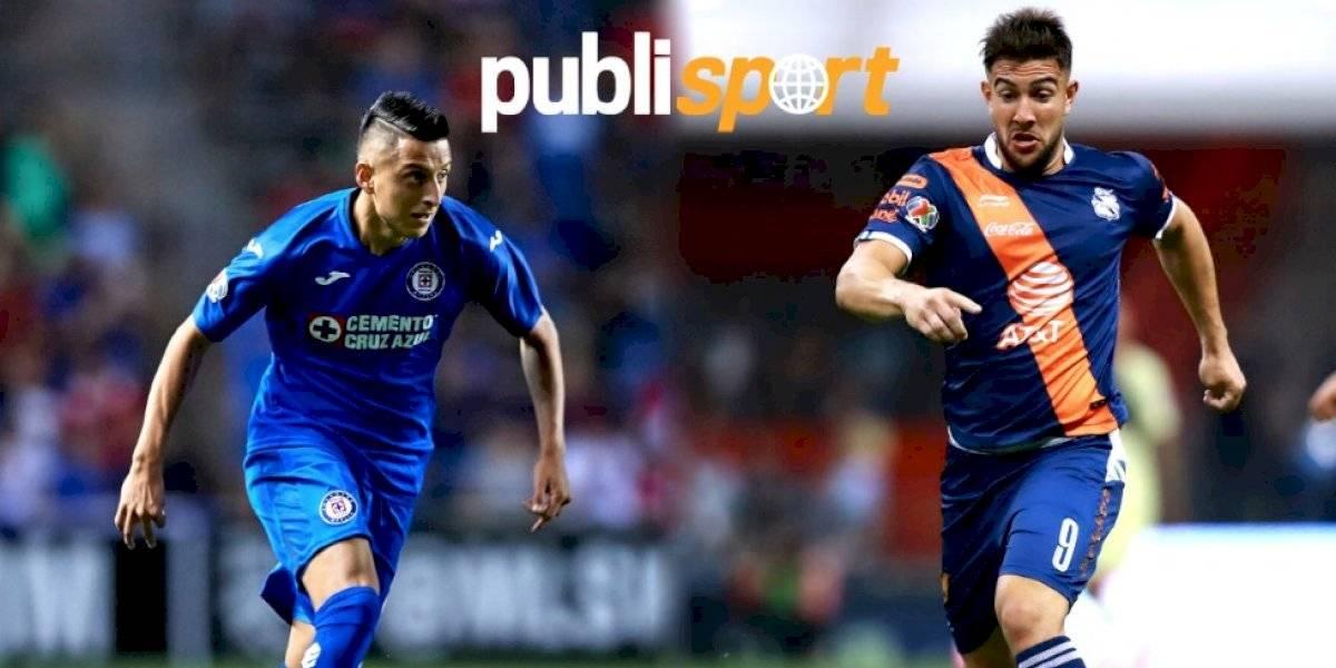 Corona salva a Cruz Azul en el empate ante Puebla