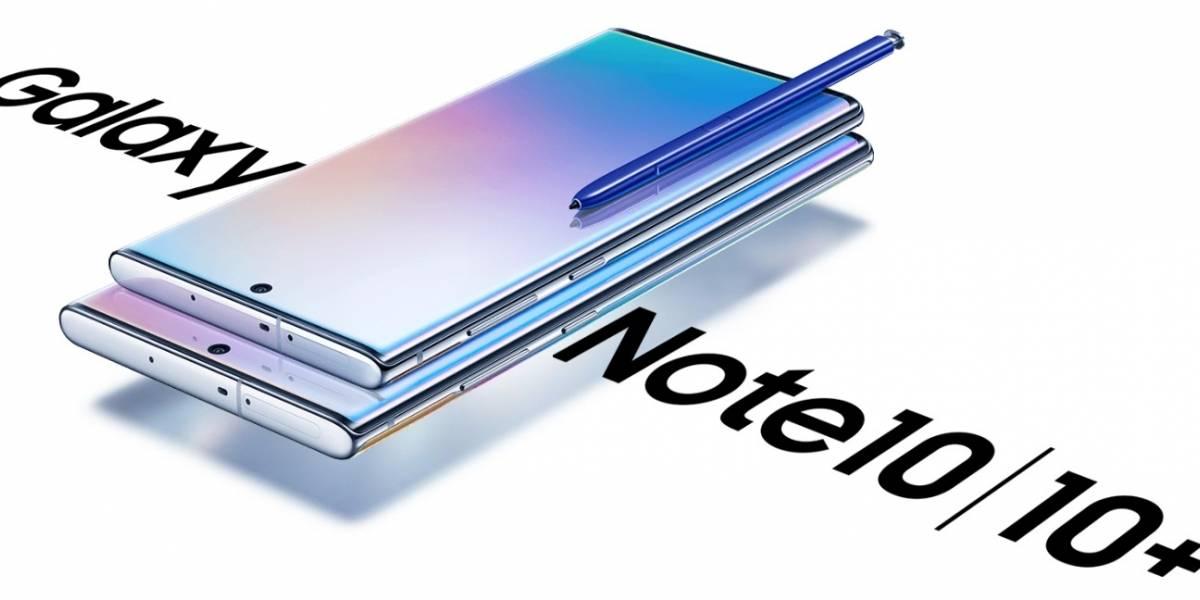 El Galaxy Note 10 por fin llegó a México: Este es su precio oficial y disponibilidad