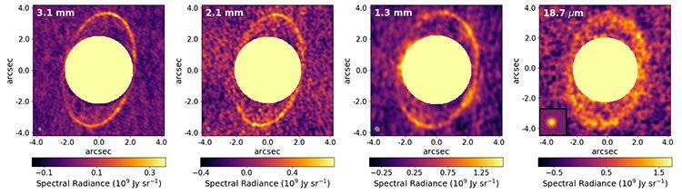 Científicos muestran imágenes de llamativos anillos en el planeta Urano