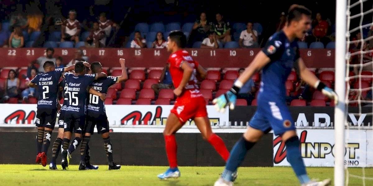 Tras caer ante San Luis, Veracruz igualó la peor racha sin triunfos en el futbol mundial