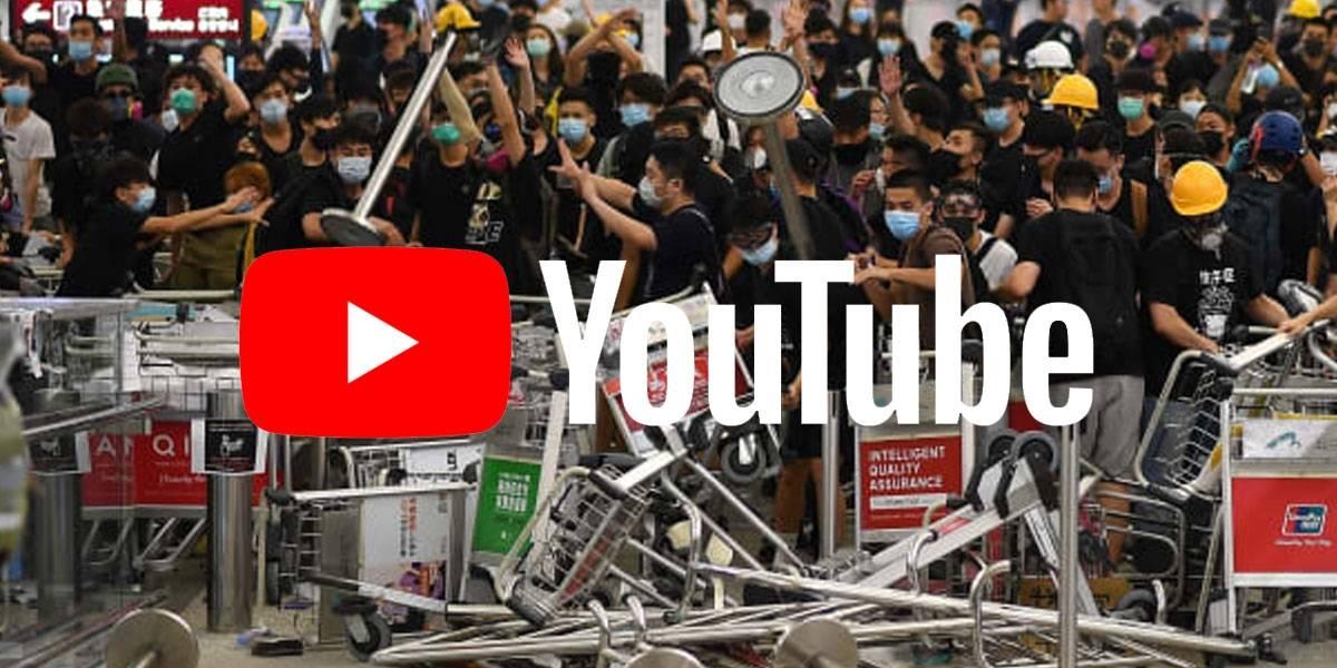 Lluvia de Fake News: YouTube cierra 200 canales por manipular protestas en Hong Kong
