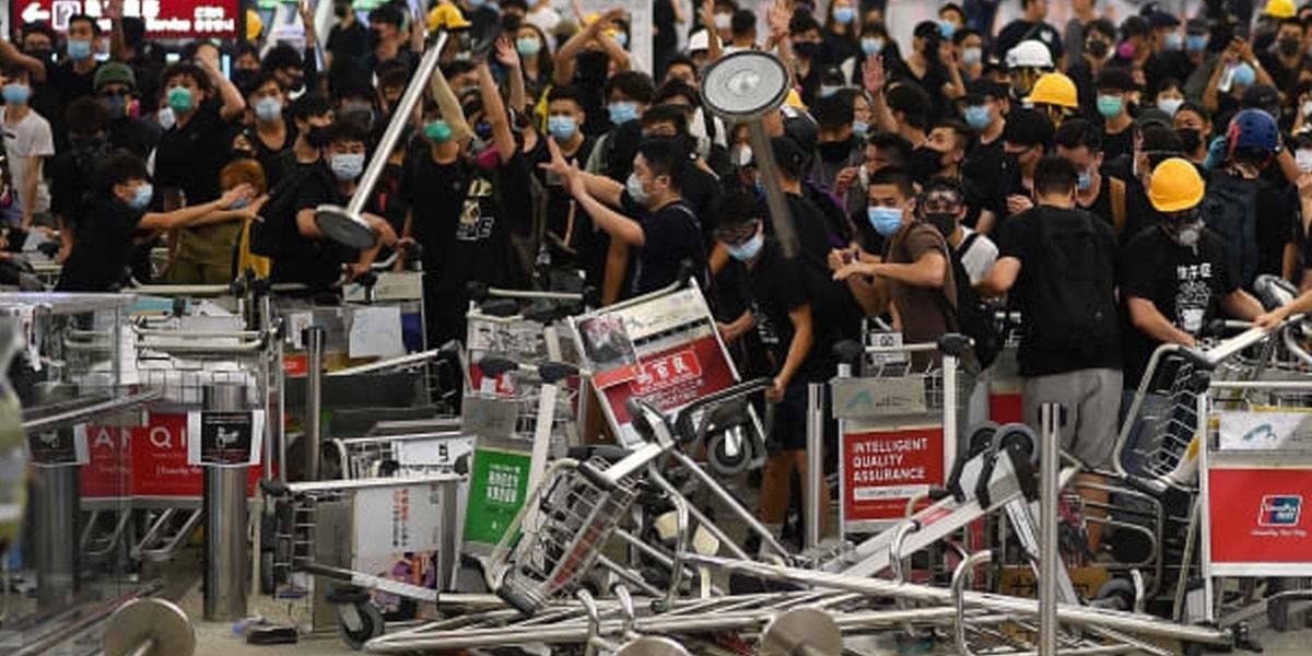 En Hong Kong buscan prohibir acceso a Internet para detener las protestas