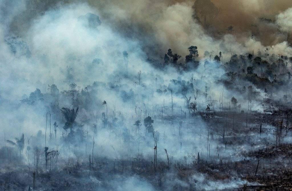 Incendio en Amazonia AFP
