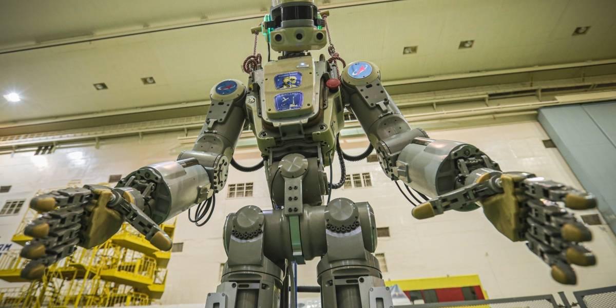 Fracasa misión espacial rusa con primer robot humanoide a bordo