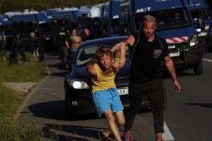 Protestas en Francia por la Cumbre del G7