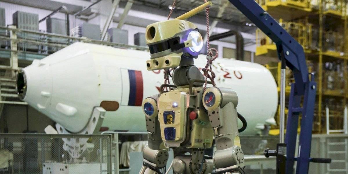 A Putin no le gusta esto: llegada de robot humanoide de Rusia a Estación Espacial Internacional fracasó
