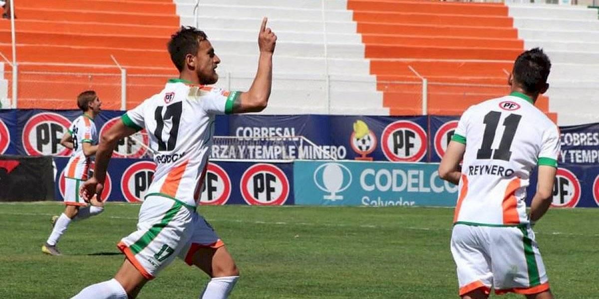 Cobresal derrotó a Unión La Calera y obtuvo tres puntos de oro en la lucha por el descenso