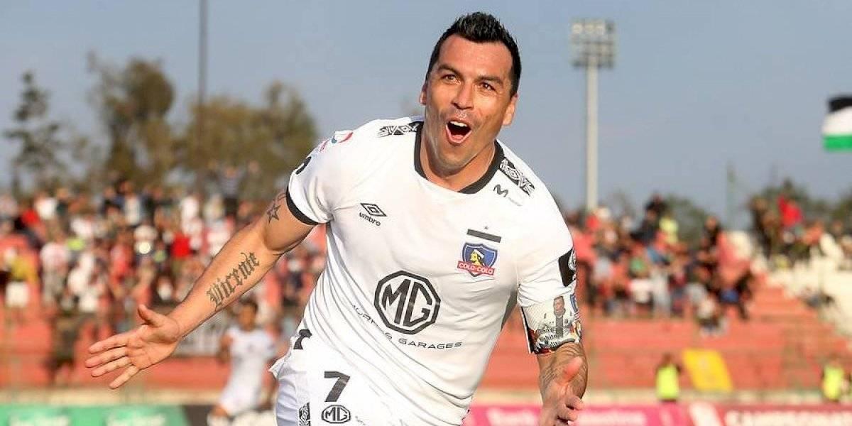 Tanque inmortal: Esteban Paredes igualó a Chamaco Valdés y es el goleador histórico del fútbol chileno