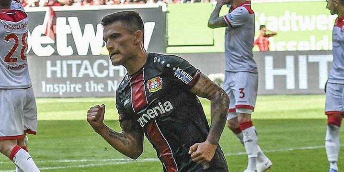 Notable definición, suspenso del VAR y a cobrar: Aránguiz brilló con un golazo en nuevo triunfo del Leverkusen
