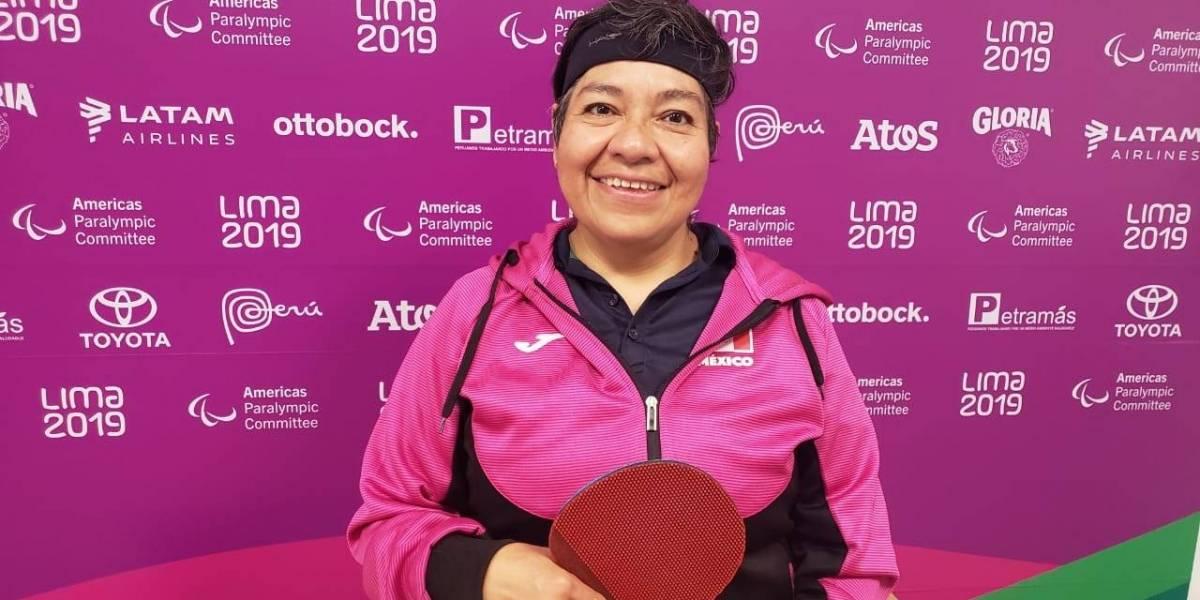 Llegó la primera medalla de oro para México en Parapanamericanos