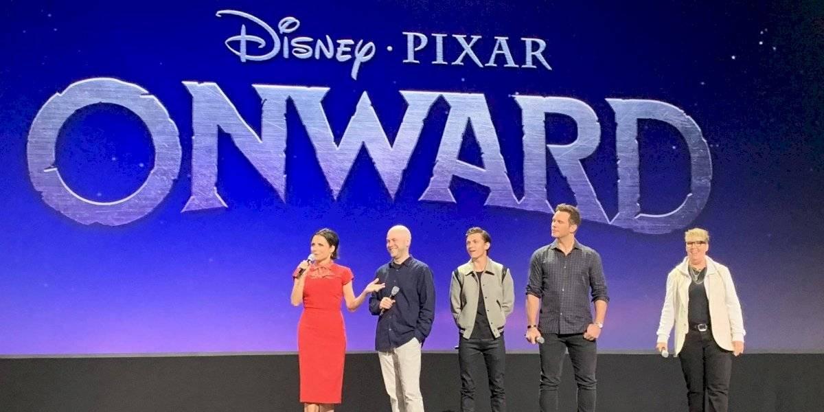 Tom Holland y Chris Pratt desataron al público durante la presentación de Pixar en la D23