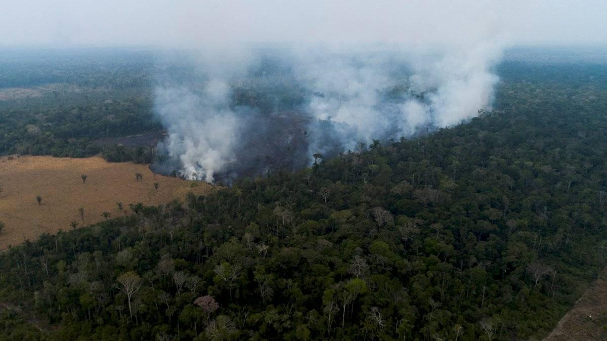 Incendios en la Amazonía EFE