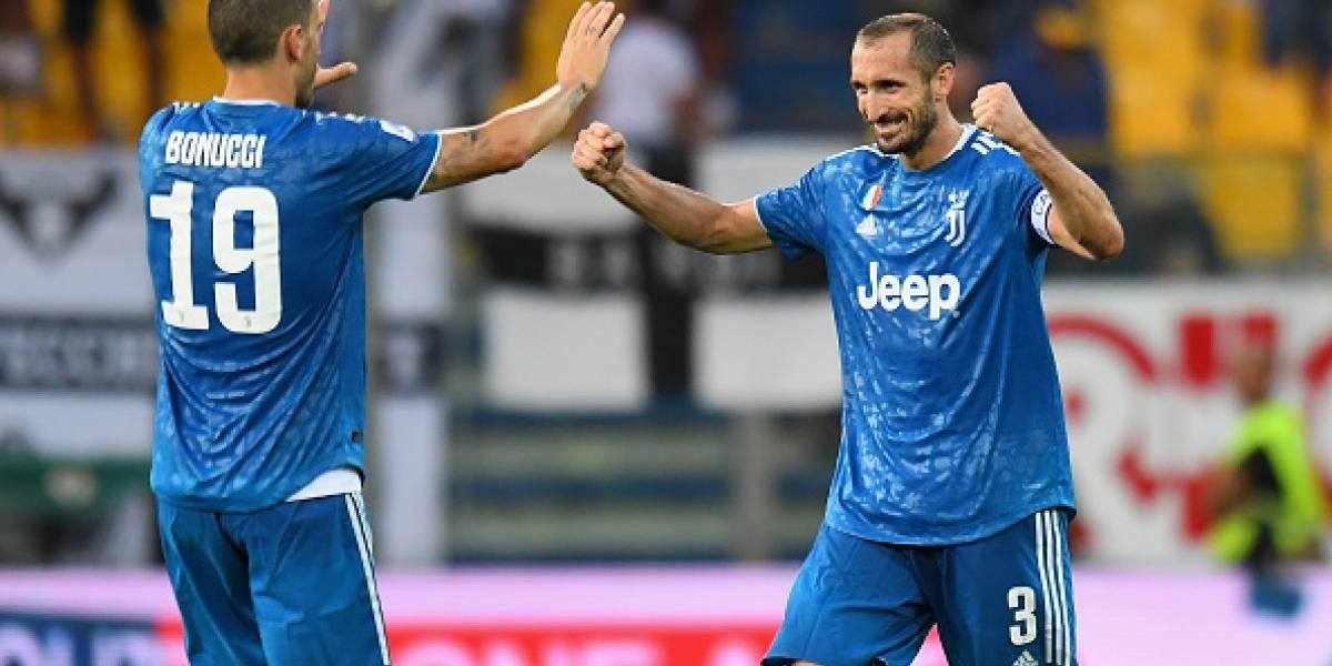 Juventus, sin mucho brillo, gana en el inicio de la Serie A