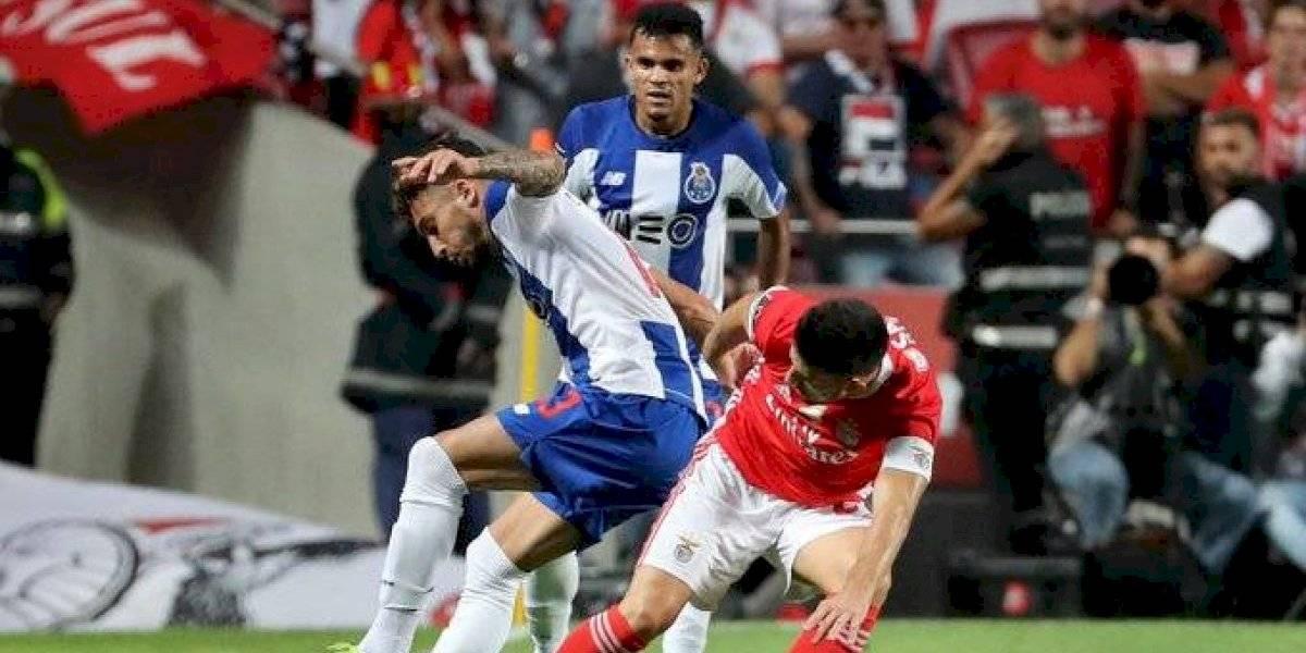 Porto gana el primer clásico de la temporada al Benfica