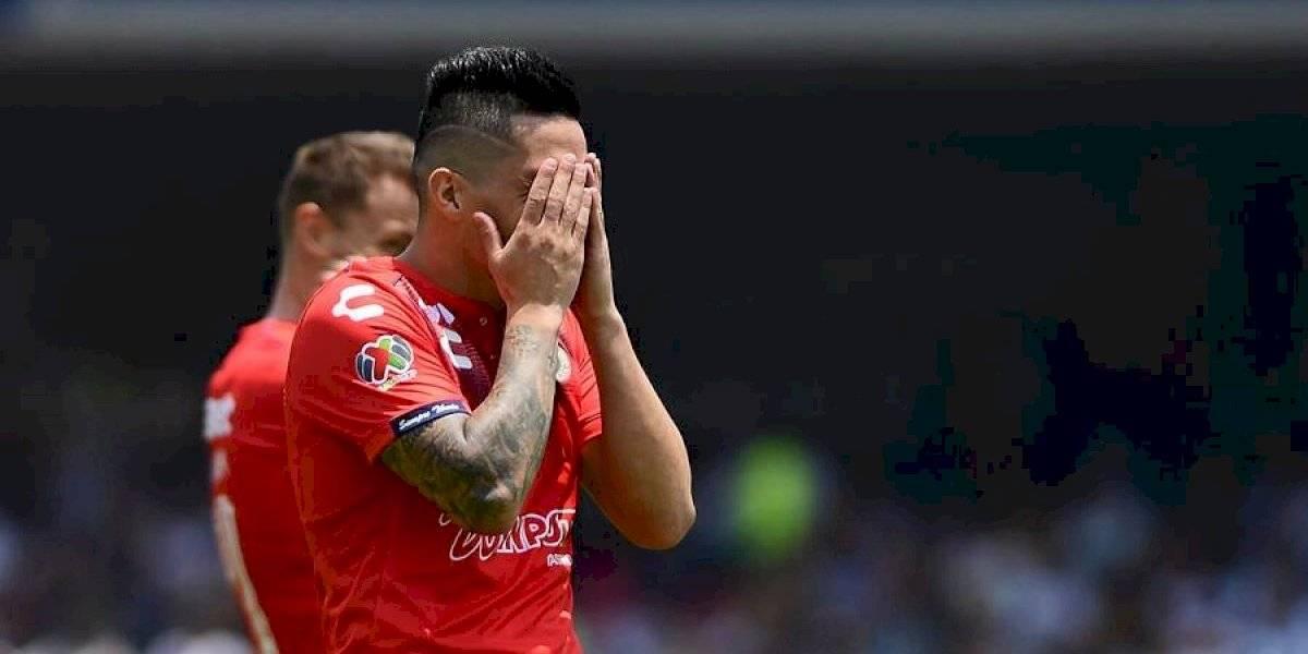 Bryan Carrasco anotó para un Veracruz que se sigue hundiendo en México