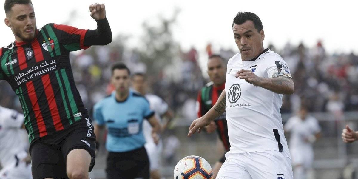 Colo Colo no pudo disfrutar del eterno Esteban Paredes e igualó con Palestino en La Cisterna