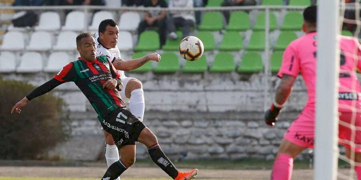 Así vivimos el histórico gol de Paredes, quien alcanzó el récord de Chamaco en amargo empate de Colo Colo ante Palestino