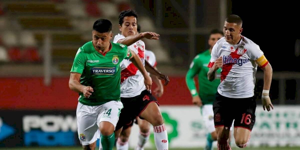 Curicó Unido y Audax Italiano empataron y encendieron la lucha por ingresar a Copa Sudamericana