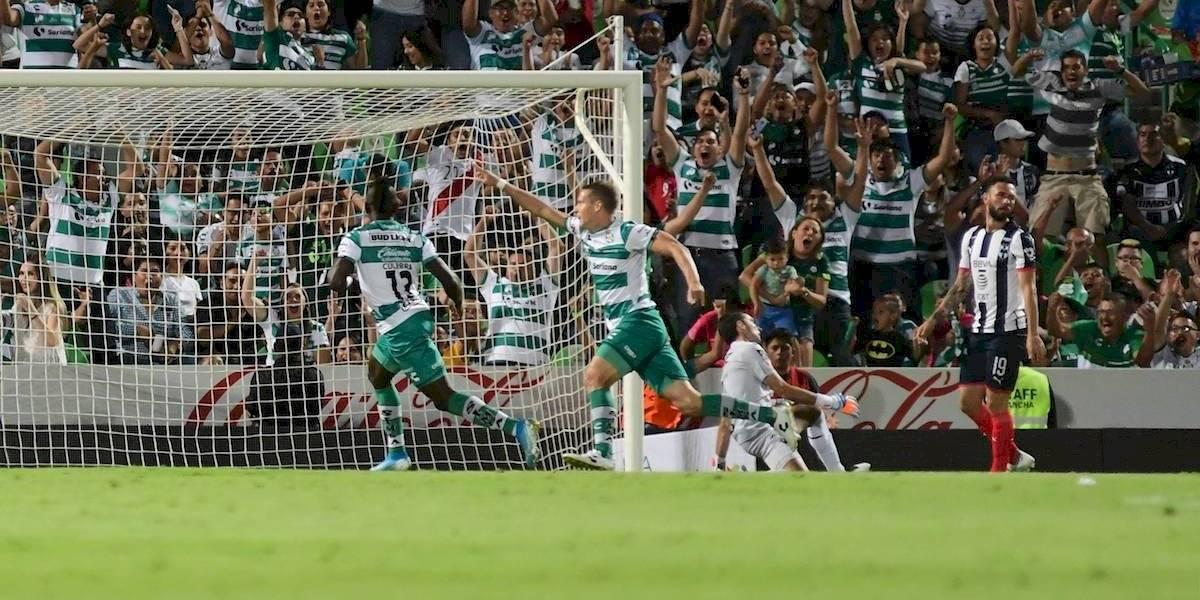 Santos se reencuentra con el triunfo y derrota a Rayados