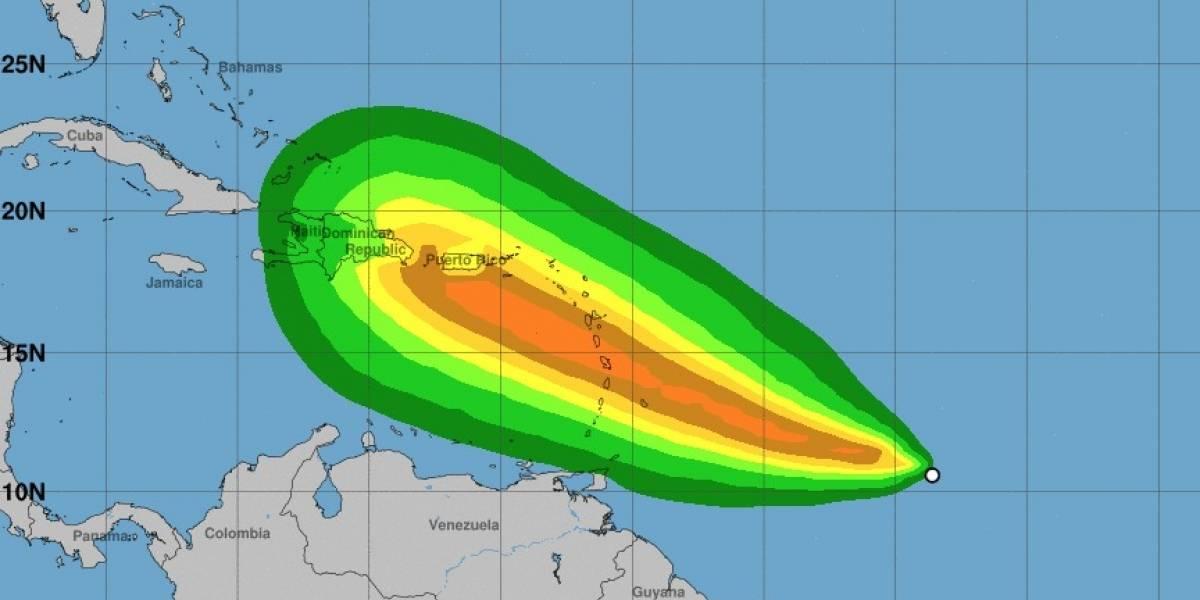 Depresión tropical se desarrolla en tormenta tropical Dorian