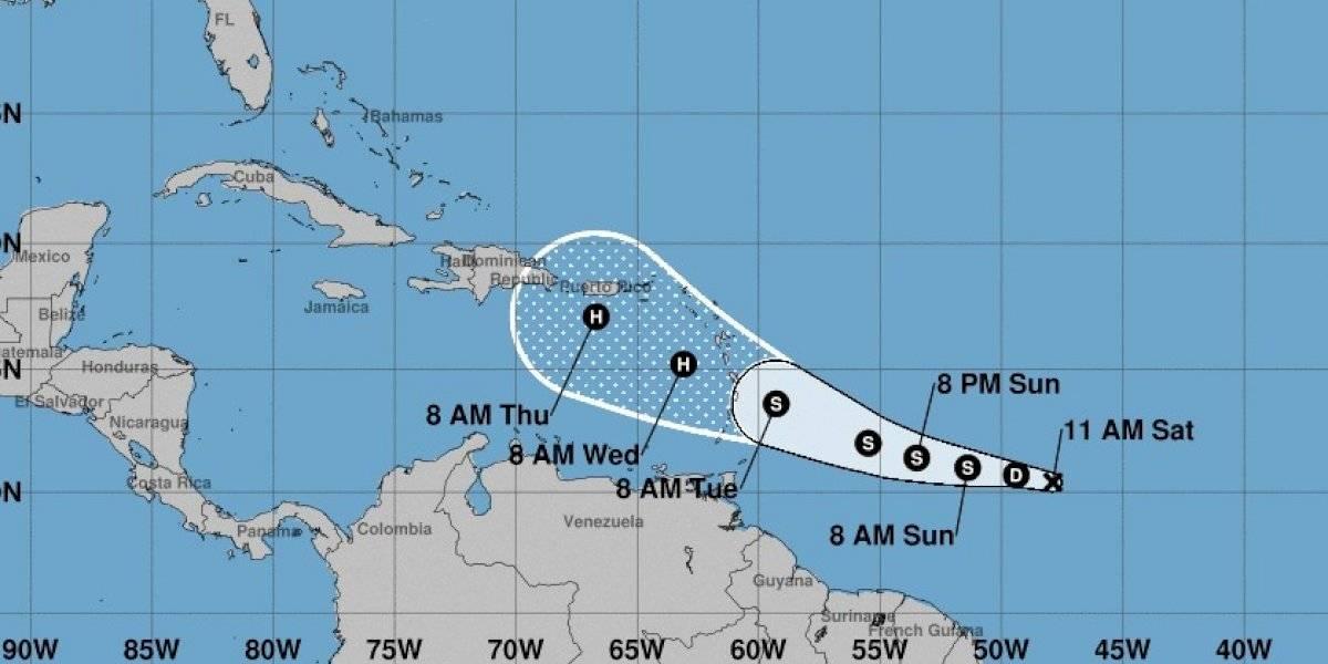 Cuarta tormenta tropical de la temporada se convertiría en huracán esta semana