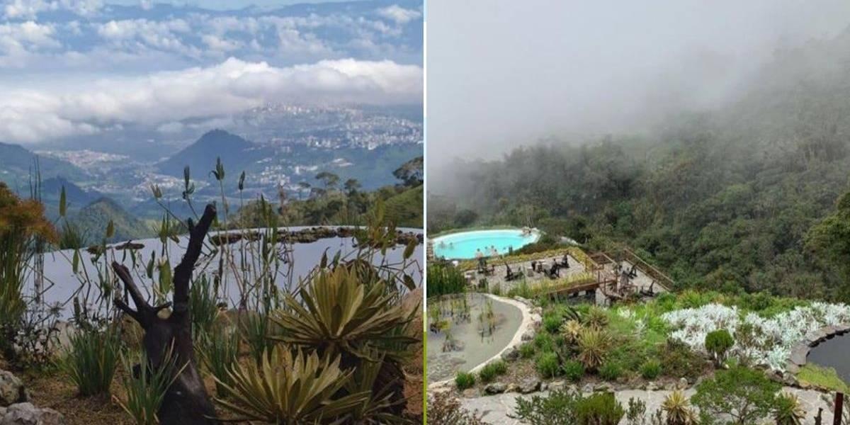 (FOTOS) Conozca la piscina de aguas termales que hay en el Nevado del Ruiz y de la que pocos saben