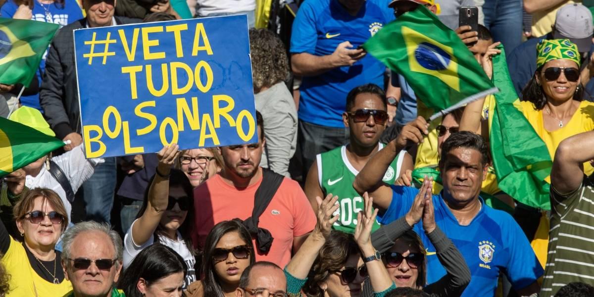 Em favor da Lava Jato, manifestantes pró-governo ocupam avenida Paulista