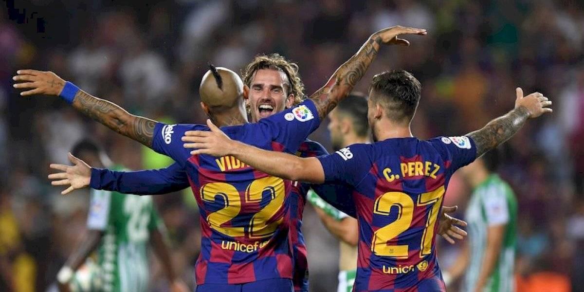 Griezmann brilla en goleada del Barcelona sobre el Betis
