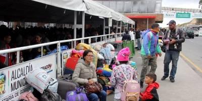 """Migración Colombia reporta """"normalidad"""" en salida de venezolanos a Ecuador"""