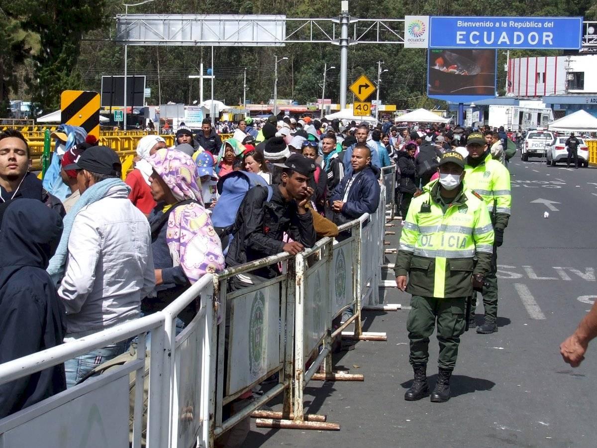 La visa humanitaria se exige a migrantes venezolanos a partir de las 00:00 de este 26 de agosto EFE