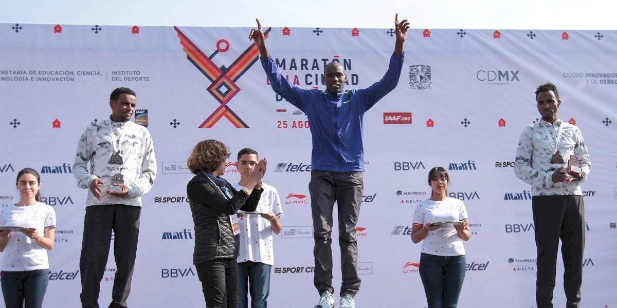 Duncan Maiyo es el ganador del Maratón de la CDMX 2019