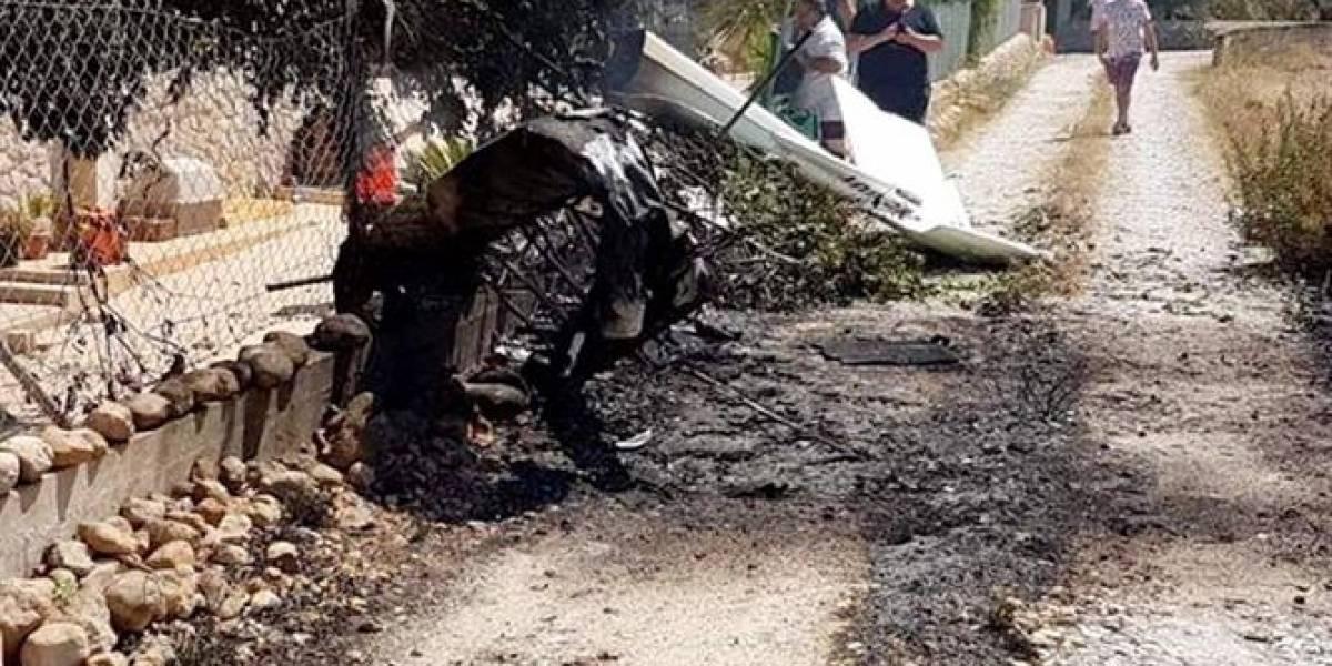 Accidente entre un helicóptero y una avioneta deja siete muertos
