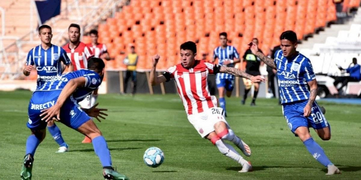 Gonzalo Jara salió lesionado en derrota de Estudiantes de La Plata ante Godoy Cruz por la Superliga argentina