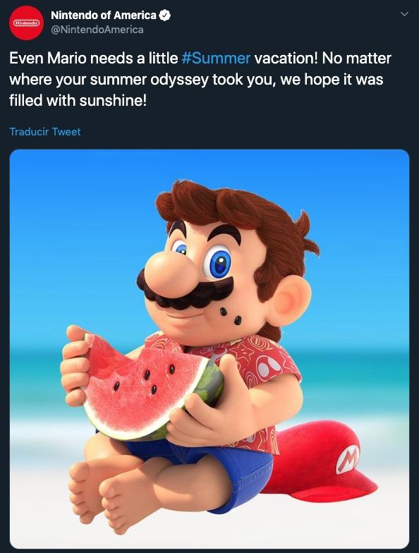 Nintendo Mario Sunshine