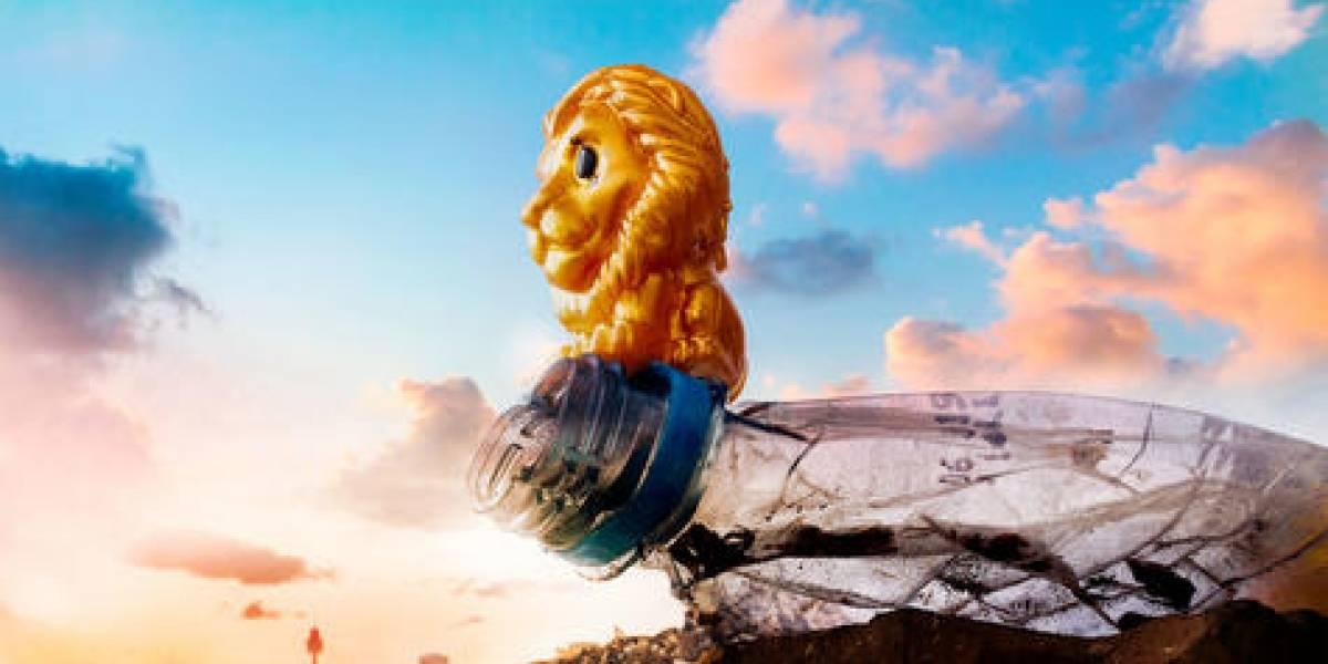 Campaña coloca a El Rey León entre la basura