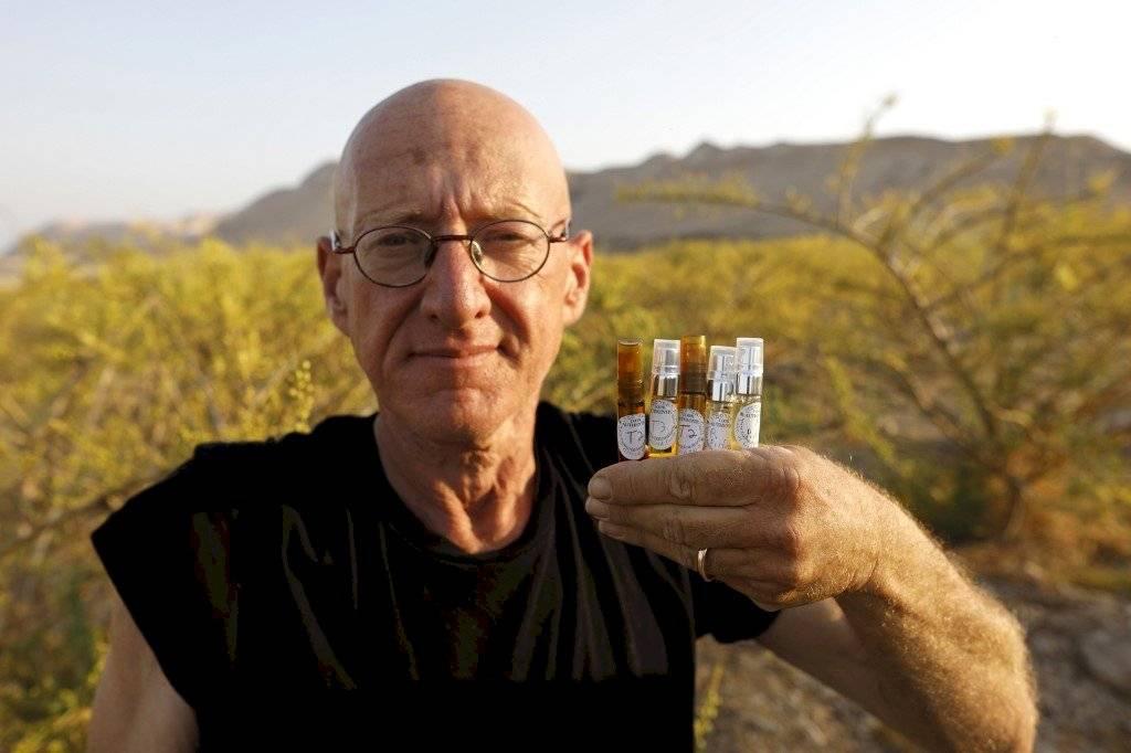 Granjero israelí Guy Erlich