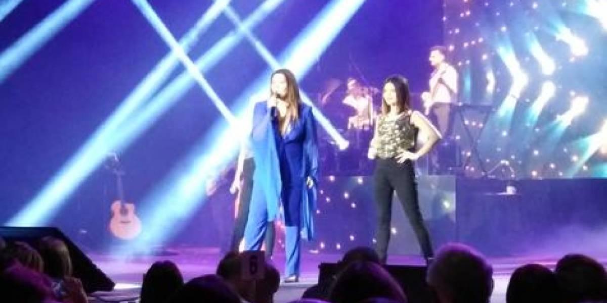 Myriam Hernández inolvidable... porque siempre quiere cantarle al amor