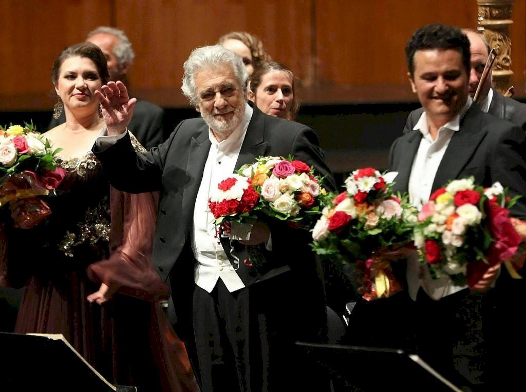 Plácido Domingo en concierto en Salzburgo