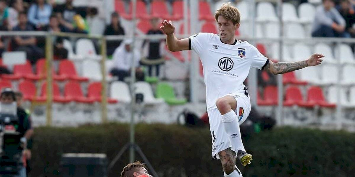 El buen debut de Iván Rossi en Colo Colo: Demostró sus condiciones y habilitó a Paredes para el histórico gol