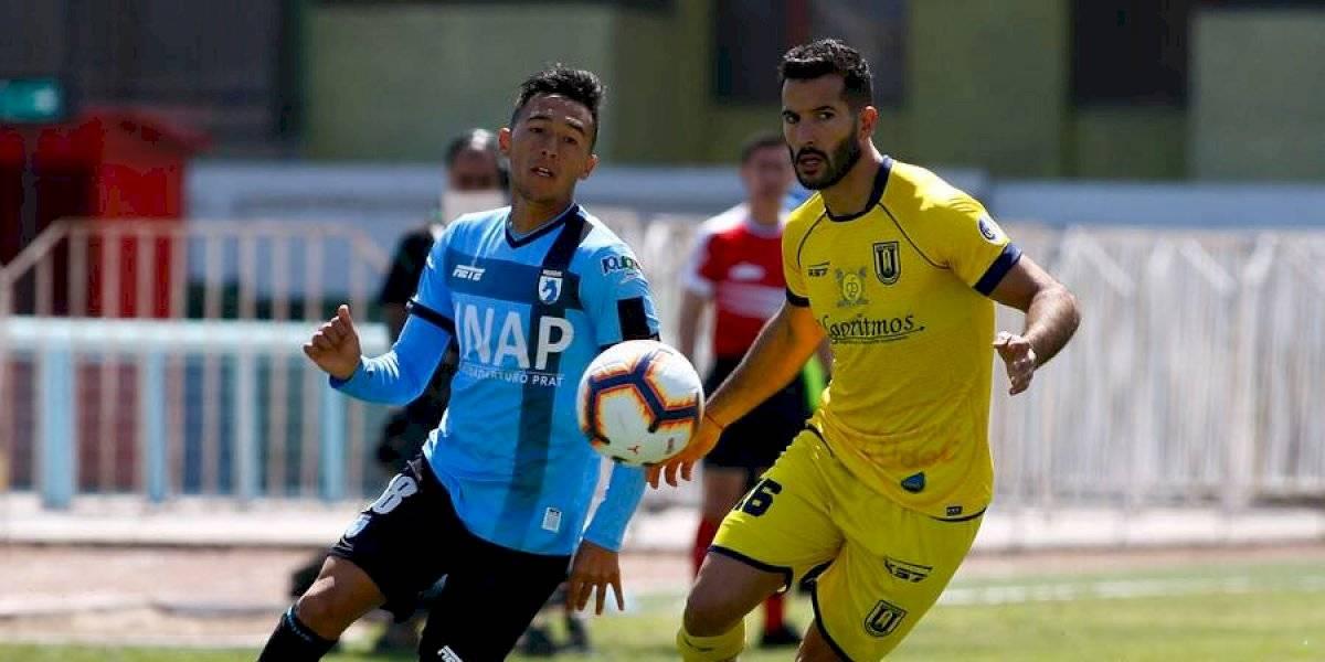 La U. de Concepción no pudo con Iquique y sigue complicado con el descenso