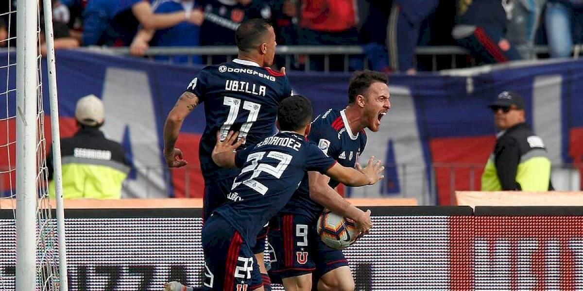 Uno a uno de la U: Ángelo Henríquez recordó que era un goleador y Camilo Moya se comió el medio