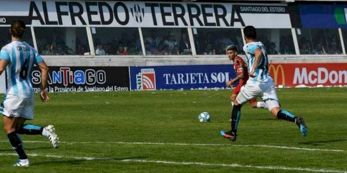 Racing de los chilenos sigue de malas y ahora empató ante un recién ascendido en la Superliga argentina