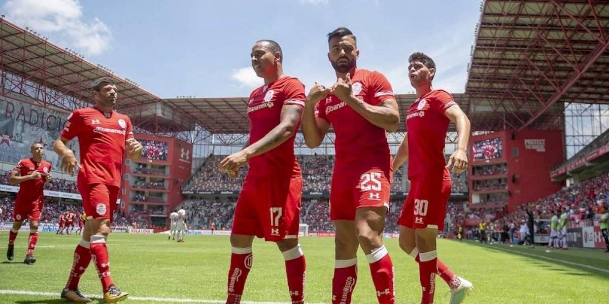 Toluca consigue su primer victoria en el Apertura 2019