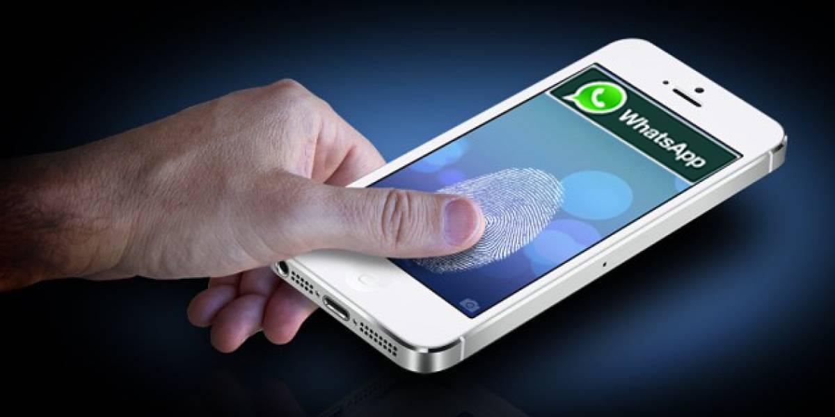 Así funciona la opción 'huella dactilar' en WhatsApp