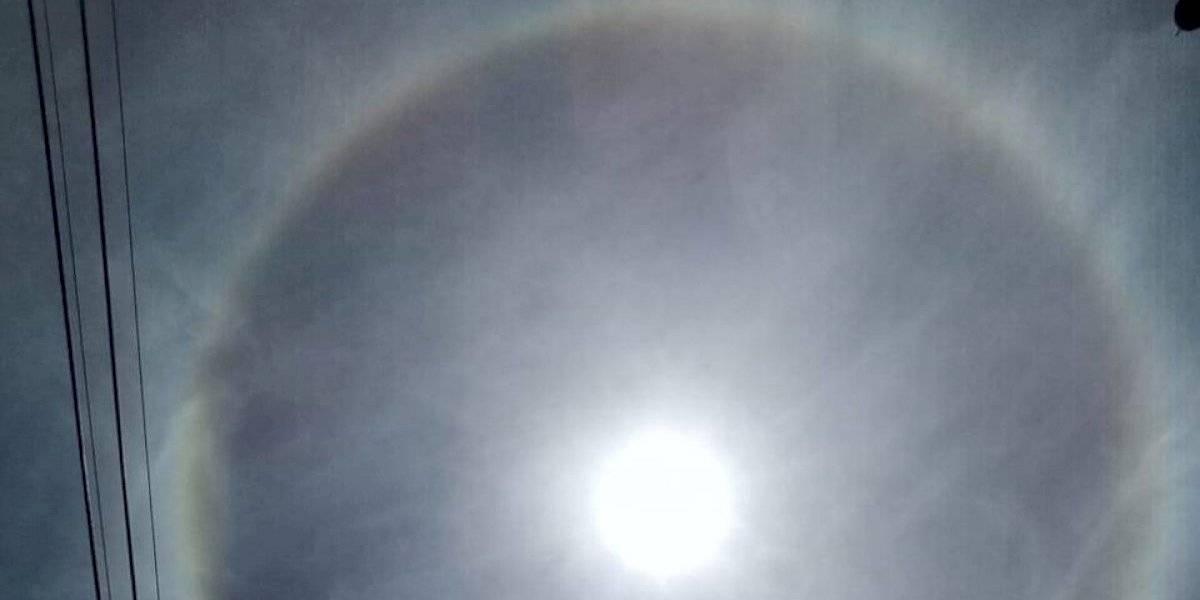 Un halo solar cubre el cielo de CDMX, ¿qué es y por qué ocurre?