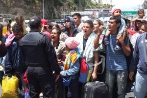 Situación en la frontera con venezolanos