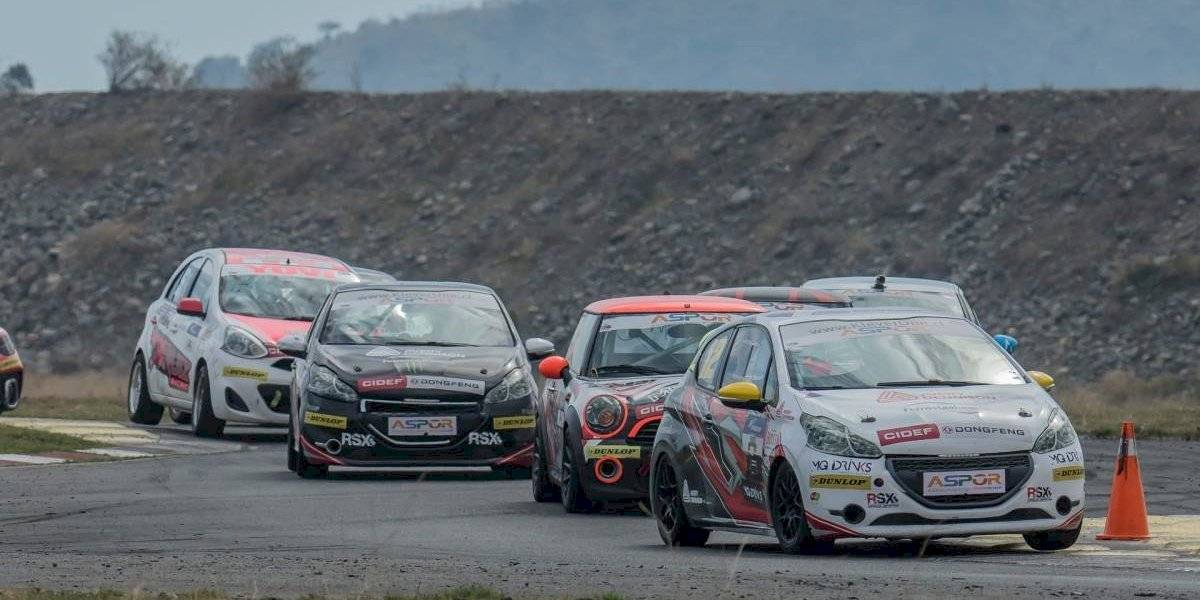 Andrés Naranjo da un gran paso para el título del TP Race